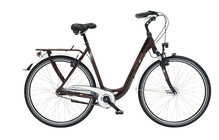 Kettler City Cruiser Wave Damen darkred